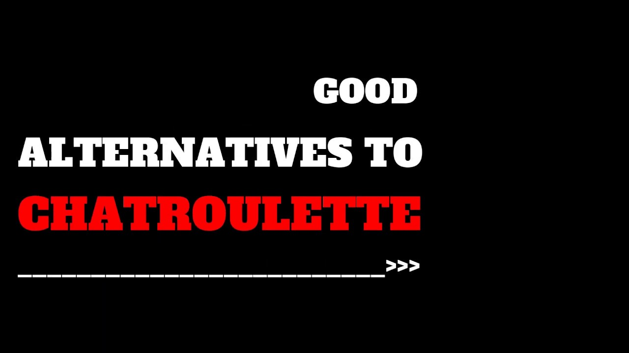 Top 50 chatroulette alternatives