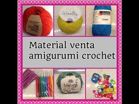 Material amigurumi/materials amigurumi - YouTube