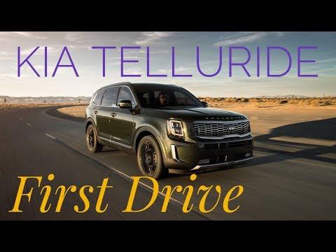 2019 Kia Telluride: First Drive