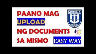 #UPLOADMISMO How to UPLOAD Documents to MISMO account?