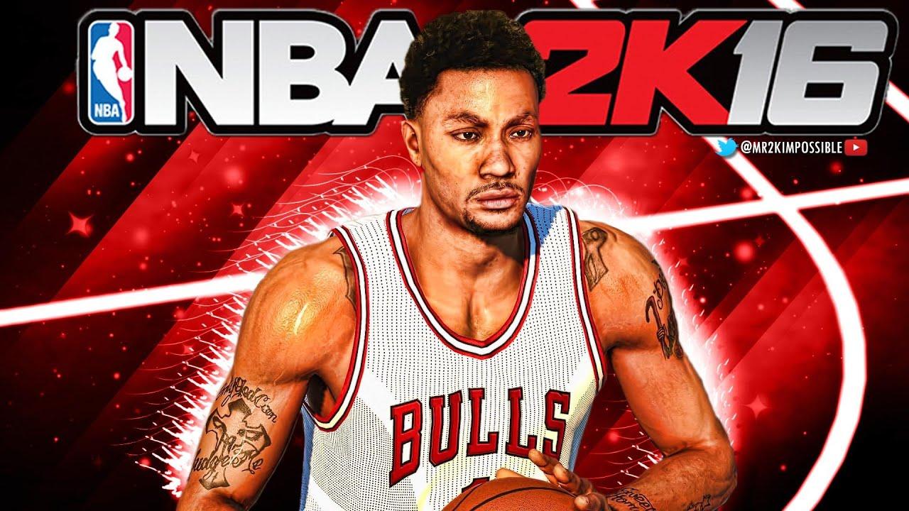 218c51824603 NBA 2k16 Ratings - Derrick Rose! - YouTube