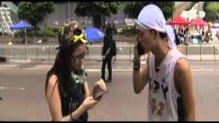 VTC14_Người biểu tình Hồng Kông lấy các vật dụng cần thiết từ đâu?