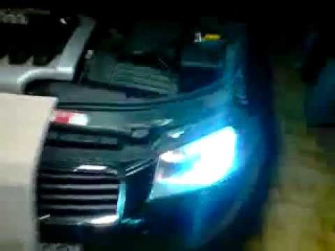 test kit xenon hid 8000k audi a3 youtube. Black Bedroom Furniture Sets. Home Design Ideas