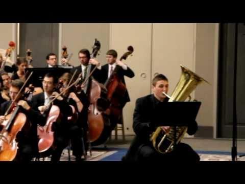 John DiCesare - Tuba YTSO 2011 - Introduction Video