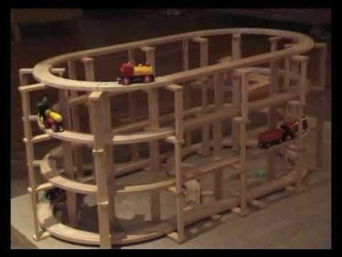 brio bahn und kapla bausteine i youtube. Black Bedroom Furniture Sets. Home Design Ideas