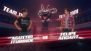 ¡tini, Cali Y El Dandee Preparan A Agustín Y Felipe Para La Batalla! - La Voz Argentina 2018