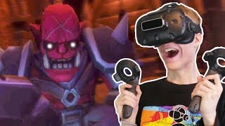 THE QUEST FOR THE CHAMBER OF HEROES | VR Dungeon Knight (HTC Vive Gameplay) Ep 3