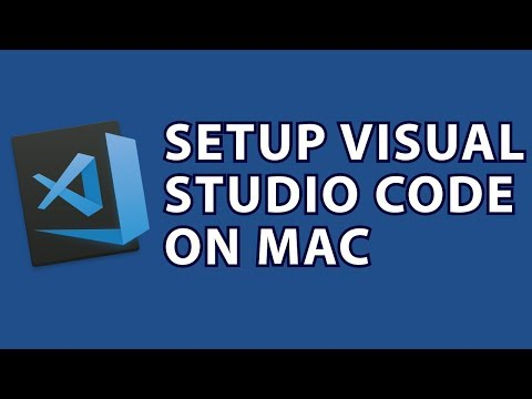 Setup Visual Studio Code Mac