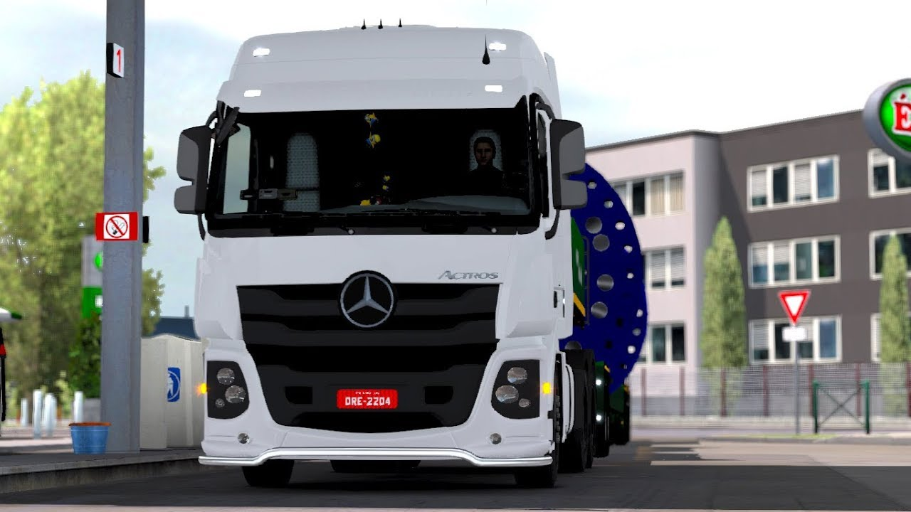 Euro Truck Simulator 2 Mods New Mercedes Benz Actros 2017 Brazil