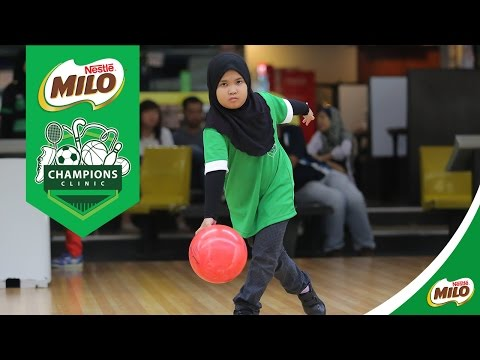 MILO Champions Clinic Bowling | 4 & 5 June 2016