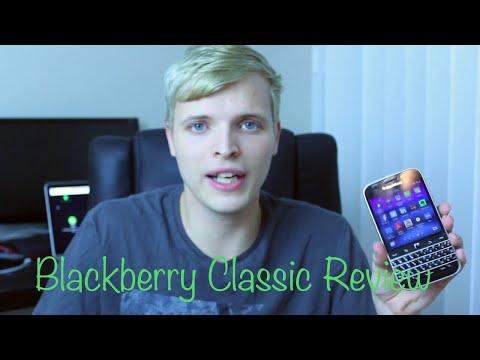 BlackBerry Classic Review (2017) Part 1
