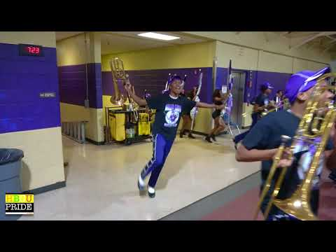 """Stephenson High School  """"Sonic Sound"""" vs. Miller Grove High """"Marching Wolverines"""" PART 1"""