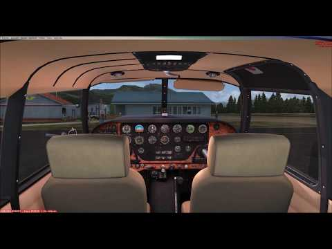 Piper PA24-250 Comanche by:  (A2A) with GTN750 installed (in wood-grain interior)!