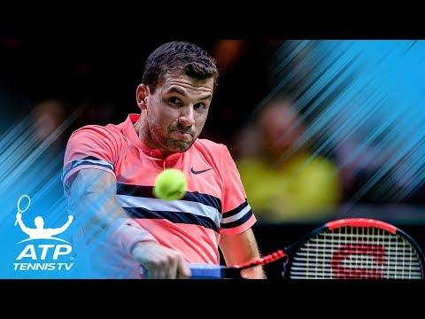 Federer, Dimitrov set up final clash | Rotterdam 2018 Semi-Final Highlights