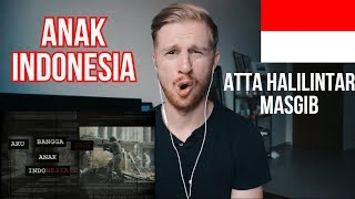 ANAK INDONESIA - ATTA HALILINTAR ft MASGIB   PEMILU DAMAI // INDONESIAN MUSIC REACTION
