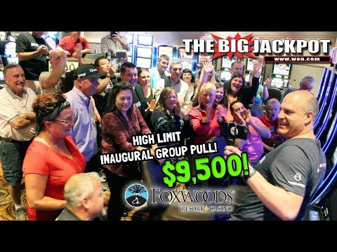 💰 HUGE Inaugural Group Pull of $9,500 at Foxwoods Casino 💸