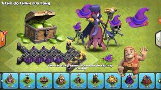 Clash of Clans War - Được 1000 gem Khi Đào Nón Phù thủy Halloween hay không?