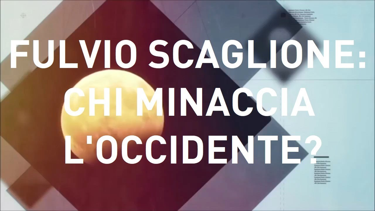 Fulvio Scaglione:  Chi minaccia l'Occidente?