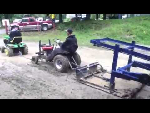 Lawn tractor pulling sled YouTube – Garden Tractor Pulling Sled Plans