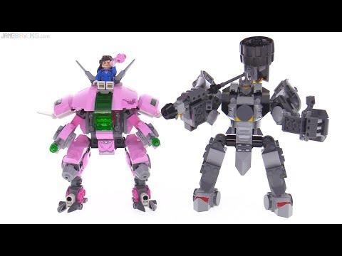 LEGO Overwatch DVa & Reinhardt set review  75973
