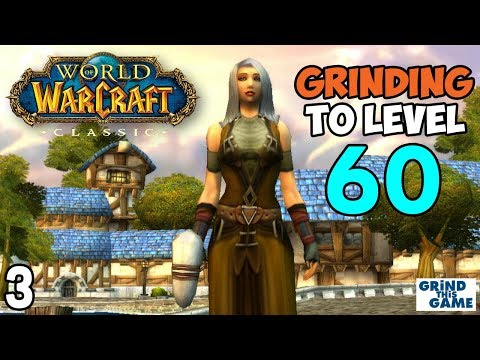 Wow Classic - Grinding To Level 60 (Priest) Episode 3 - YouTube