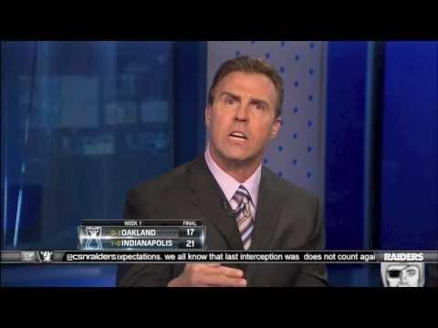 Bill Romanowski and Lorenzo Neal Talk Raider Football....Raiders vs. Clots....9/8/13