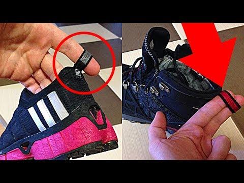Для чего нужны эти петельки на задниках обуви?