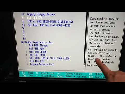 supermicro server 1u Bios setting and boot sequence settings