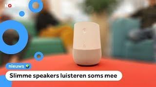 Mensen van Google horen wat jij zegt tegen je speaker