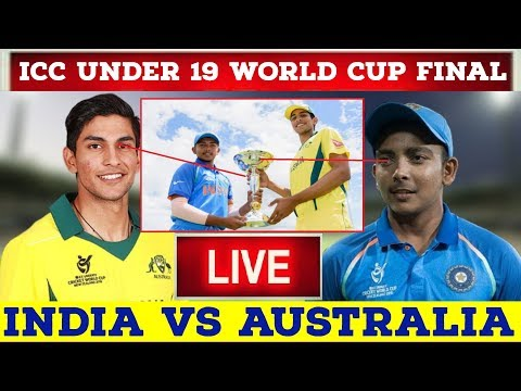 Live World Cup Final | Ind U-19 Vs Aus U-19 Final Live | ICC Under 19 World Cup 2018 Final Ind V AUS