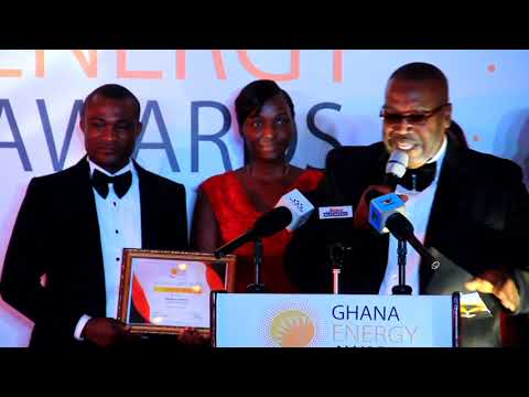 CEO of Ghana Gas wins Petroleum Personality of the year