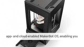 MakerBot Replicator Z18 3D Printer - Video Review