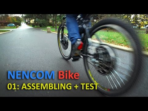 All-wheel drive bicycle 2000 W