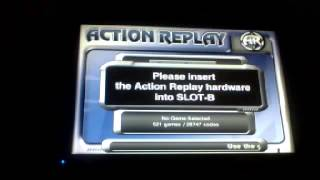 action replay max gamecube on wii