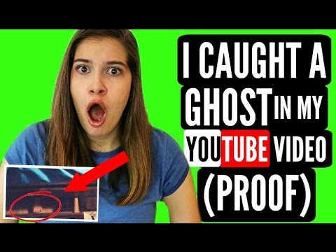 I Caught A Ghost In My YouTube Video!!! + PROOF!