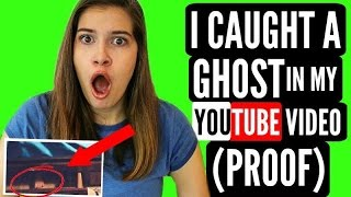 i caught a ghost in my youtube video proof