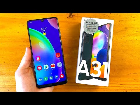 Samsung Galaxy A31 Unboxing & First Impressions!