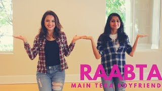 Main Tera Boyfriend | Raabta| Desi Twist| Bollywood Dance Easy Choreography