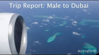 Trip Report: Emirates Airlines Male To Dubai   Boeing 777 300