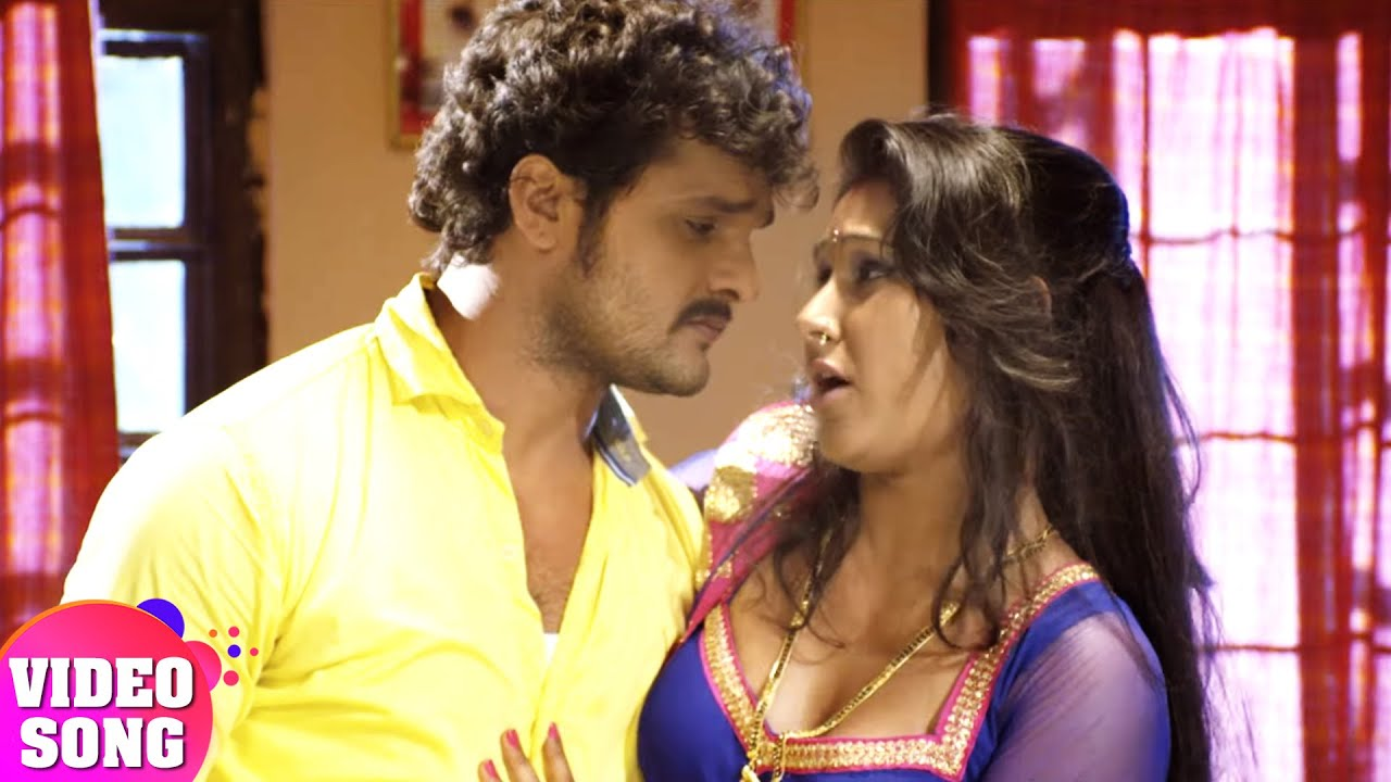 Watch: Khesari Lal Yadav and Poonam Dubey's hit Bhojpuri song 'Jawani Thope  Thop Chuata'