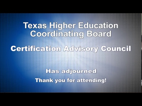 Certification Advisory Council (CAC) - YouTube