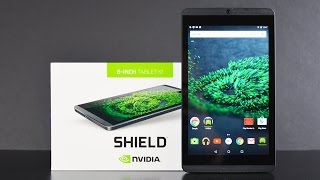 Nvidia Shield Tablet K1 (Android 6.0): Unboxing & Review