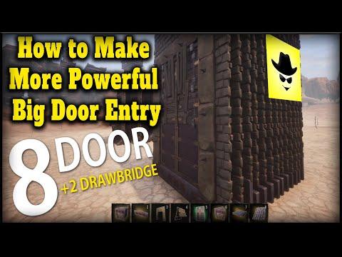 How To Make More Powerful Big Door Entry | Conan Exiles
