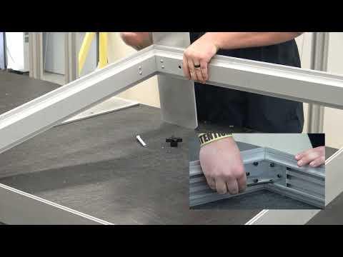 Klik™ NO TOOLS compared to Traditional SEG Frame System