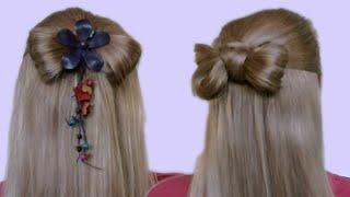 Прическа Бантик из Волос Пошаговая Видео Инструкция как Делать Своими Руками