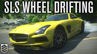 DRIFTING WITH A WHEEL & TIP | DRIVECLUB | Thrustmaster Wheel Cam