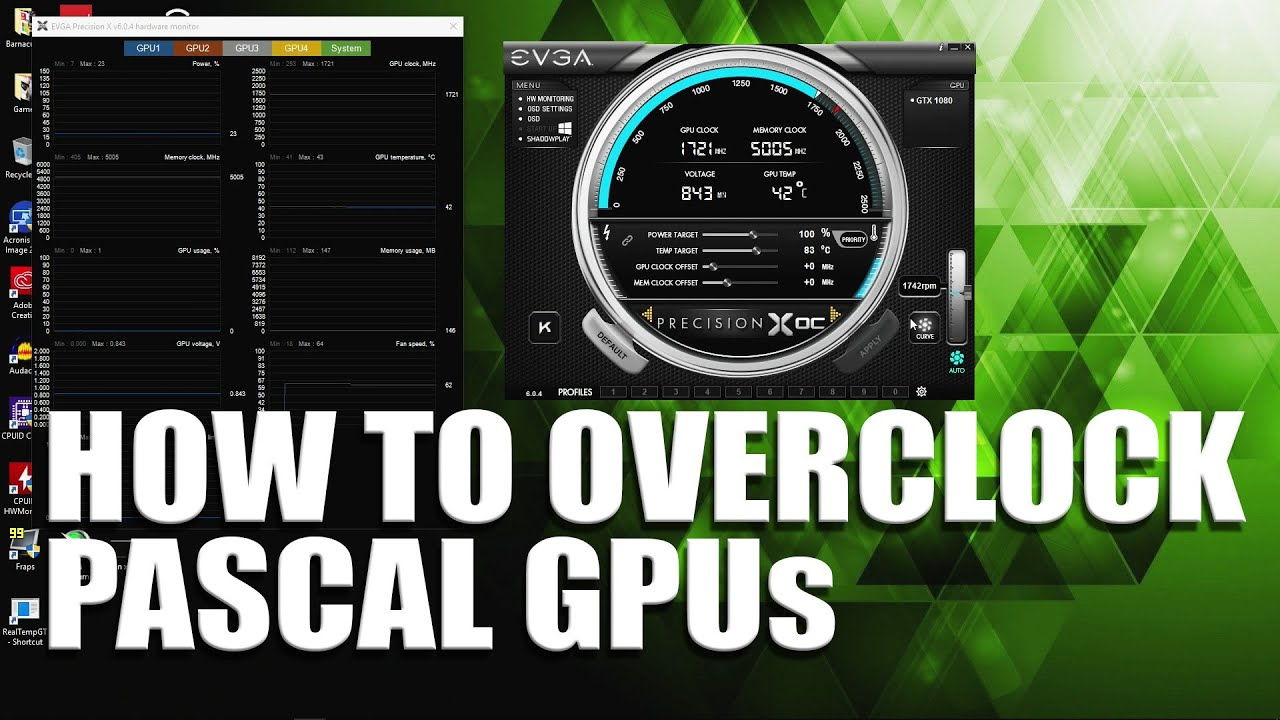 How to overclock an NVidia video card Tips and instructions for overclocking an NVidia GeForce video card 21