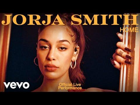 Jorja Smith - Home (Live)   Vevo Official Live Performance