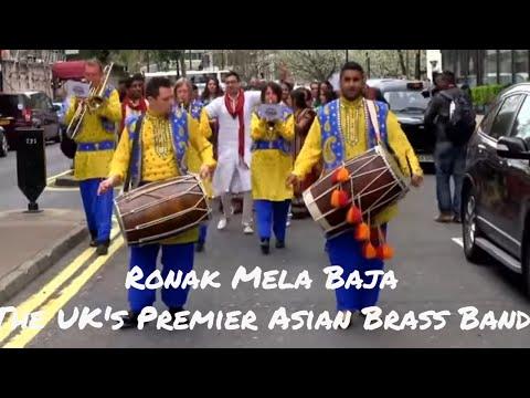 Ronak Mela Baja - The UK's Premier Asian Brass Band