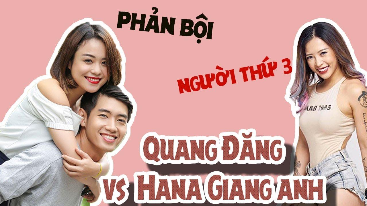 Drama tay ba giữa Quang Đăng, Thái Trinh và Hana Giang Anh, người trong cuộc nói gì